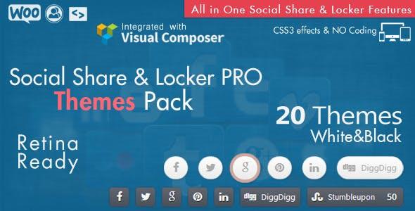 Social Share Locker Pro WordPress Plugin Plugins, Code & Scripts