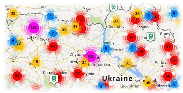 Google Maps server side Markers clustering v3.1