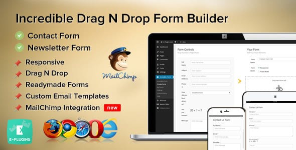 wordpress form plugin Free Download | Envato Nulled Script