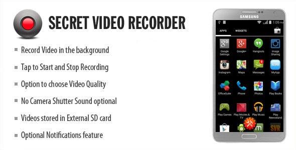 Secret Video Recorder by wpnova | CodeCanyon