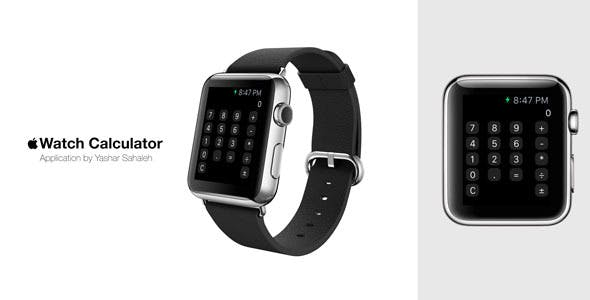 Le Watch Iwatch Calculator In Swift Codecanyon Item For