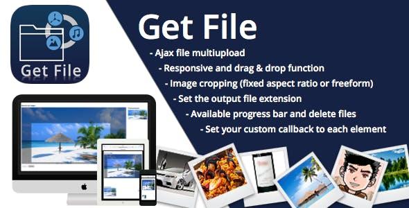 Get File Uploader, cropper, sizes and image format