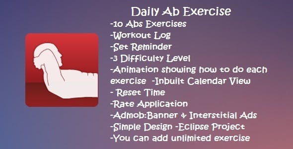 daily ab exercise by gkcrop codecanyon