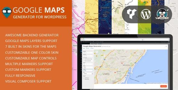 Map Generator Plugins Code Scripts From CodeCanyon - Color map generator