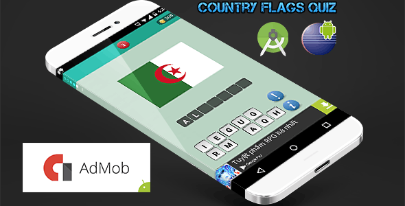 Country Flags Quiz - Find The Word Template by ittus