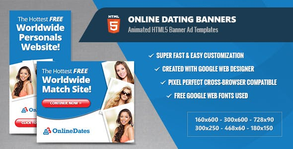 online dating templates