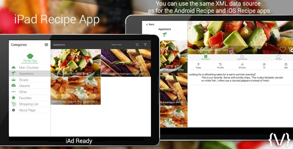 Make a health app with mobile app templates from codecanyon tags health recipes recipe app cook cook app cooking food ios ipad menu recipe restaurant restaurant menu swift tabletsee all tags forumfinder Images