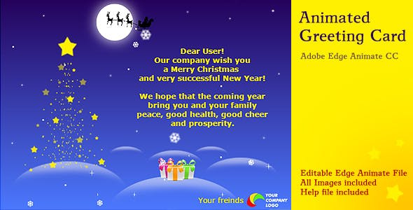 Ecard plugins code scripts from codecanyon animated christmas card m4hsunfo