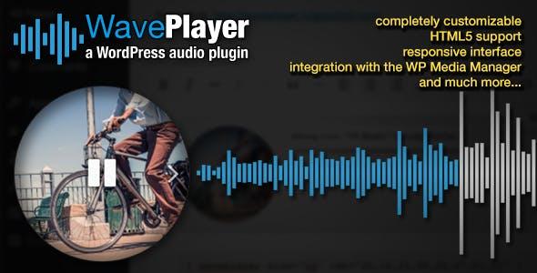 WavePlayer - WordPress Audio Player with Waveform and Playlist by