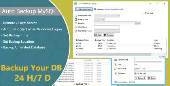 Auto Backup MySQL Free Download | Download Auto Backup MySQL