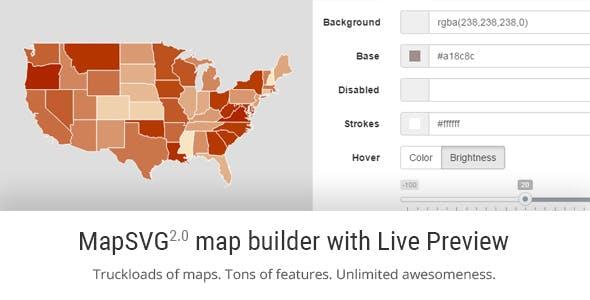 MapSVG jQuery - Responsive Vector Maps, Floorplans, Interactive SVG Images