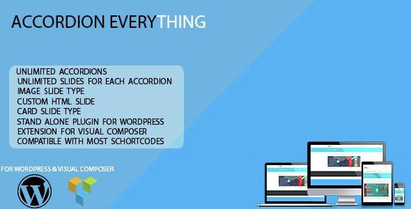 HTML Editor WordPress Accordion Plugin from CodeCanyon
