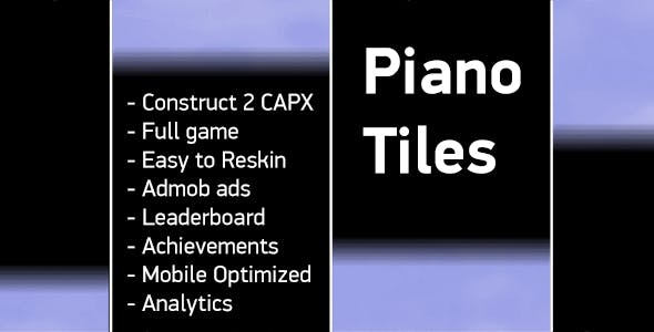 Piano Tiles Html5 Capx Admob Ytics Leaderboard Achievements