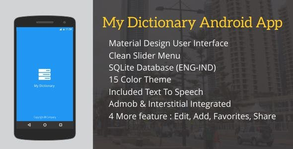 dictionary android Free Download | Envato Nulled Script