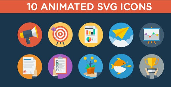animated svg icons Free Download | Envato Nulled Script