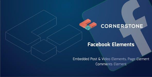 Facebook Elements For Cornerstone
