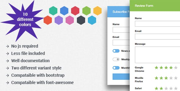 Forms Css Forms From Codecanyon