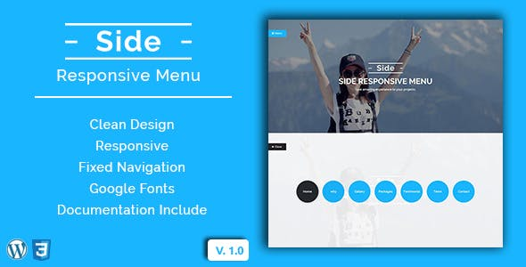 mobile menu Free Download | Envato Nulled Script