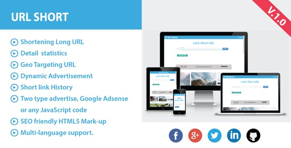 bit ly adf ly clone Free Download | Envato Nulled Script
