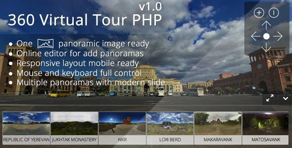 360 Virtual Tour PHP by webfalconus | CodeCanyon