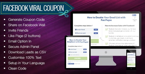 Facebook share plugins code scripts from codecanyon fandeluxe Images