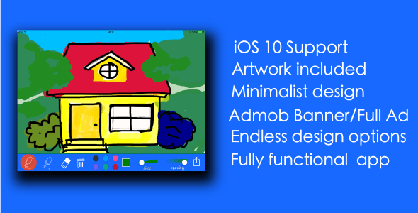 Tags Drawing Application Brush Coloring Book Full Improvement Ios 8 Iphone Kid No Coding Require Sketch Source Code StrokeSee All