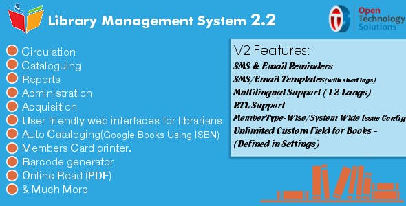 Library Management System 3 0 by otsglobal | CodeCanyon