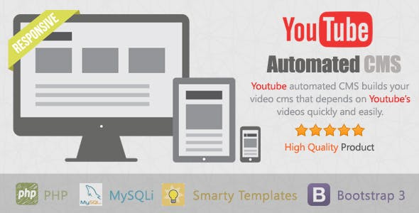 YouTube Automated CMS