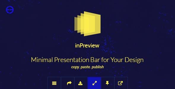 Psd template presentation plugins code script from codecanyon inpreview minimal presentation bar for your design maxwellsz