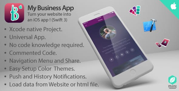 My Business Turn Your Website Into An Ios Codecanyon Item For