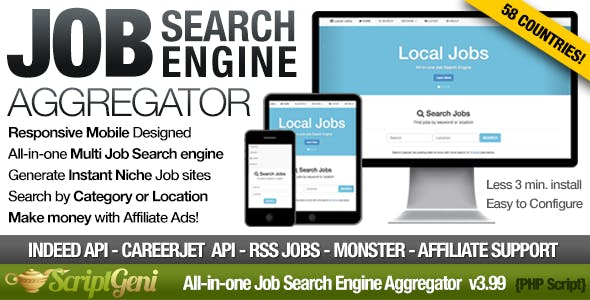 Job Search Plugins, Code & Scripts from CodeCanyon