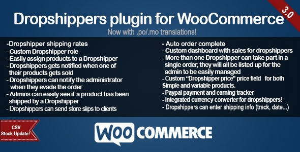 WooCommerce Dropshippers by ArticNet | CodeCanyon