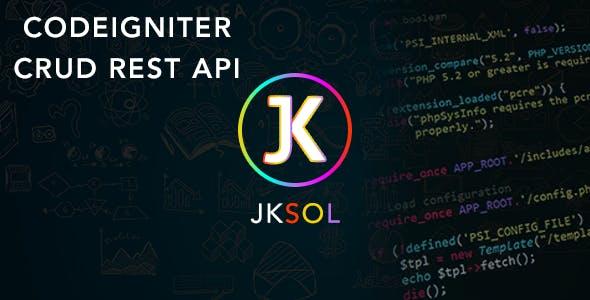 codeigniter crud rest api by jksol   CodeCanyon
