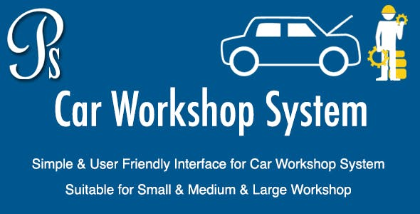 Car Workshop System by willianlay07 | CodeCanyon
