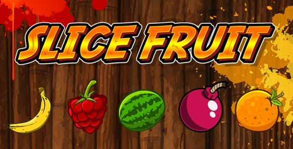 Slice Fruit - HTML5 Game (Capx)