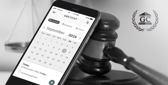 download Find a Lawyer Android Mobile App for Legal Advice - GOCOURT