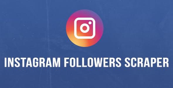 InstaFollower - Instagram Followers Scraper - Chrome Extension