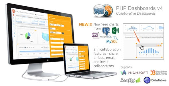 PHP Dashboards v4.7 (Collaborative Social Dashboards - 100% source code included)