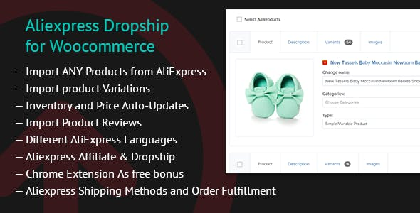 - Aliexpress Dropship for Woocommerce chrome 2 - Plugins