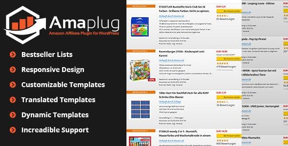 80b96cba4e3e Amazon Affiliate Plugin - Amaplug - CodeCanyon Item for Sale