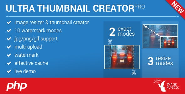 Image Resizer and Thumbnail Creator | watermark | ImageMagick