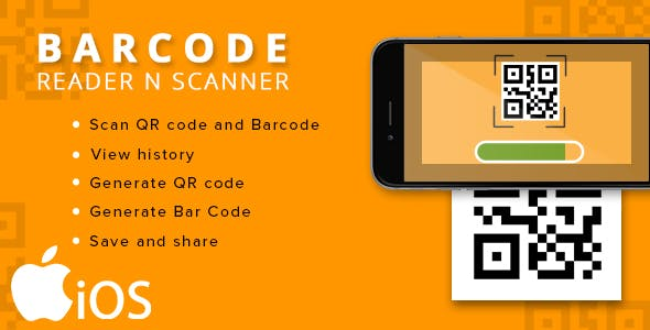 make a barcode scan app with mobile app templates