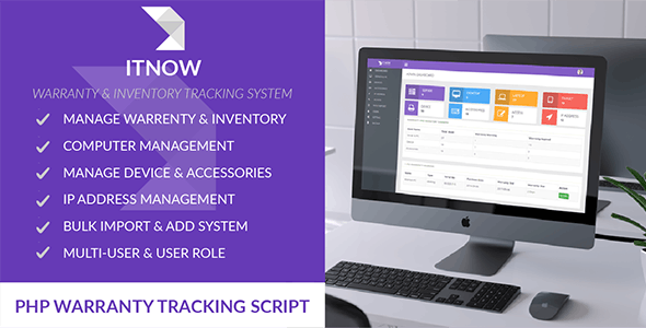 itnow warranty inventory tracking system by spagreen codecanyon