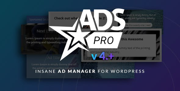 Ads Pro Plugin - Multi-Purpose WordPress Advertising Manager by scripteo 68019e42cac