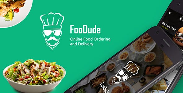 Food Ordering & Delivery Android App Template (XML Code in