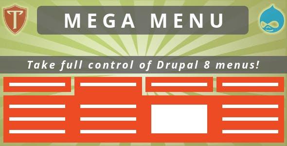 Mega Menu for Drupal 8 by Templago | CodeCanyon