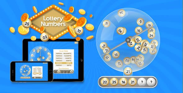 Lottery HTML5 Templates from CodeCanyon