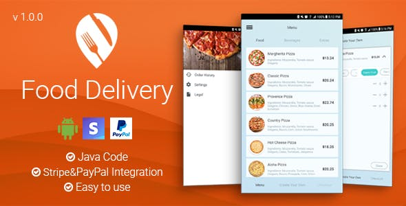 Food Delivery - Android App by ThemeDimension | CodeCanyon
