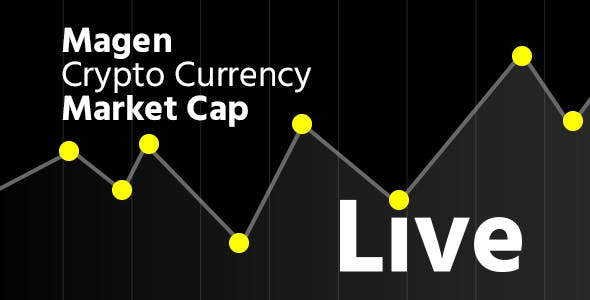 Magen Crypto Currency Realtime Live Market Cap With Multi Currencies Supported Codecanyon Item For