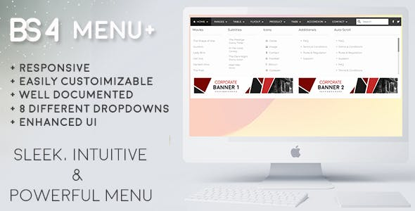 bootstrap menu Free Download | Envato Nulled Script